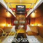 Orient Train Cabin
