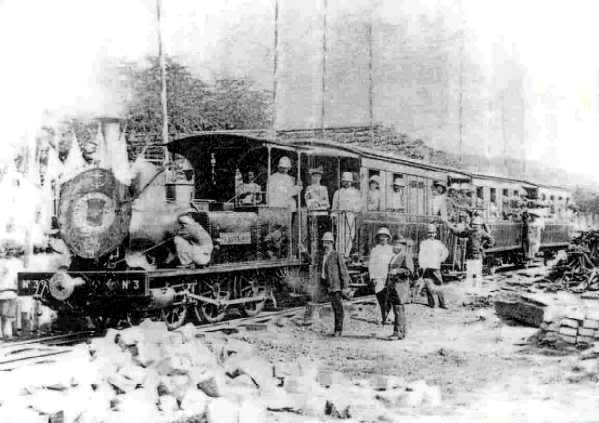 Vietnam Train In The Past
