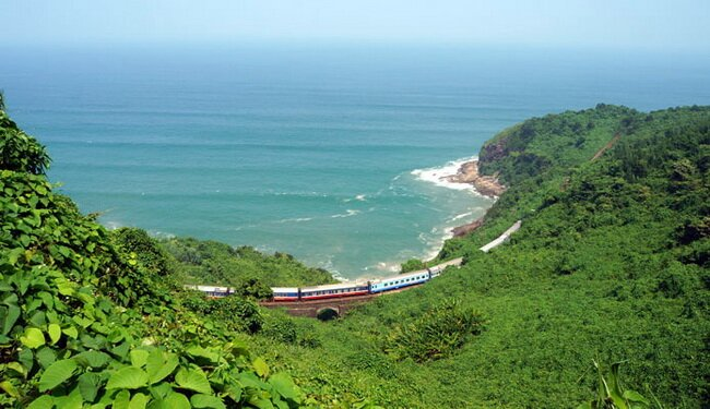 Train Travel In Vietnam