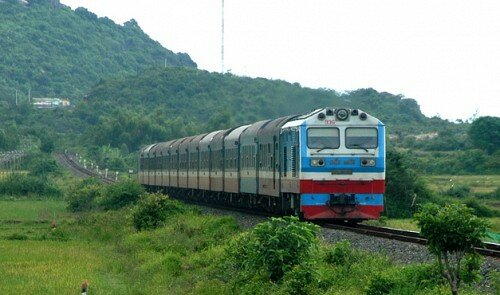 Vietnamese trains